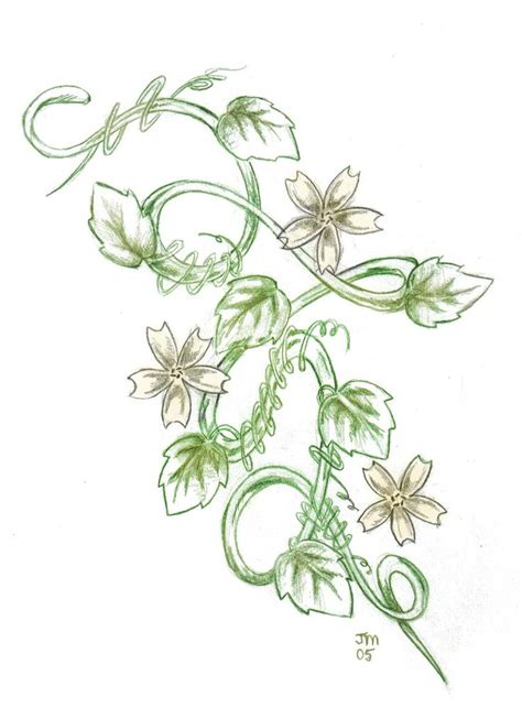 flower vine tattoo best 25 flower vine tattoos ideas on flower