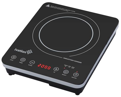 Portable Induction Cooktop Reviews Cooks Illustrated ivation 1800 watt portable induction countertop cooktop burner easy clean