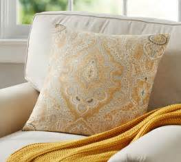 viola print pillow cover pottery barn