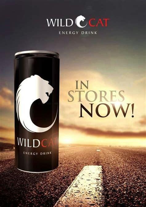 poster design for drink wildcatenergy wildcat energy drink