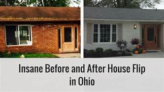 Curb Appeal Before And After - insane before and after house flip in ohio