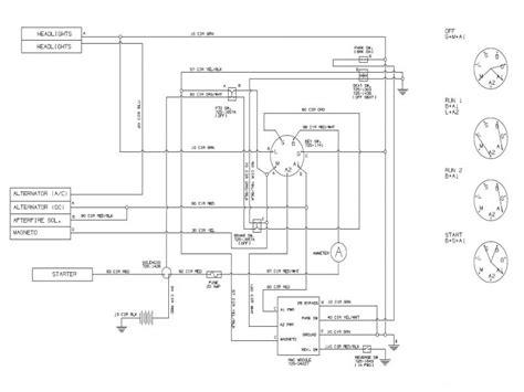 briggs  stratton   hp engine wiring diagram wiring