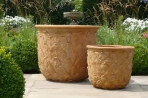 florence flower pot fibre glass planters terracotta