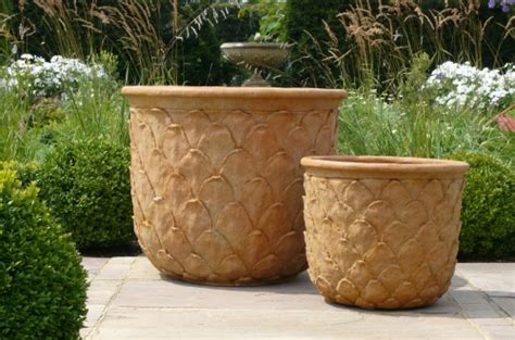 Large Tree Planters by Florence Flower Pot Fibre Glass Planters Terracotta