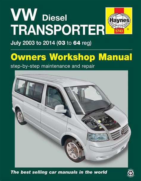 free car repair manuals 2010 volkswagen cc electronic valve timing vw t5 transporter july 03 14 03 to 64 reg haynes publishing
