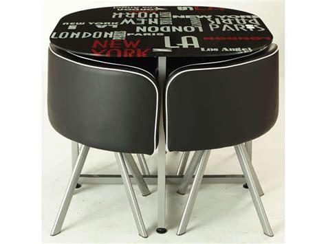 conforama chaise de cuisine 349 ensemble table 4 chaises town vente de ensemble table