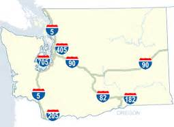 wsdot interstate exit numbers for washington state