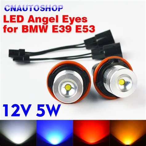 Mancis Bmw 1 1 Dengan Lu Led מוצר flytop 1 set 2 pieces 12v 5w white blue yellow led marker bridgelux chip