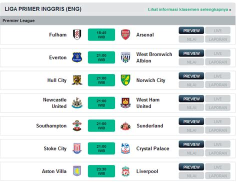 jadwal bola agustus 2013 topscore and news