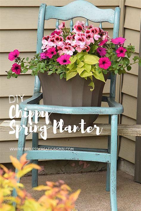 DIY: Fun Spring Planter   Timeless Creations, LLC