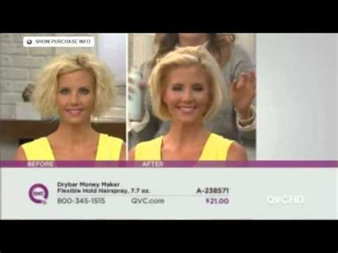 qvc model stacy ann drybar staci ann youtube
