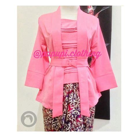 Kebaya Kutu Baru Pink by Jual Atasan Kebaya Kutu Baru Pink Di Lapak Aneka