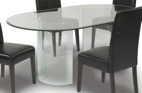 clear dining room table oval glass dining room table interiors design