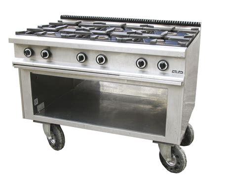 stufa a gas per cucinare noleggio materiale da cucina stufe a 6 fuochi