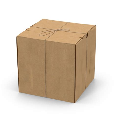 square cardboard box stock images image 29889354 square cardboard box with twine png images psds for