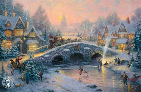thomas kinkade signed and numbered limited edition print