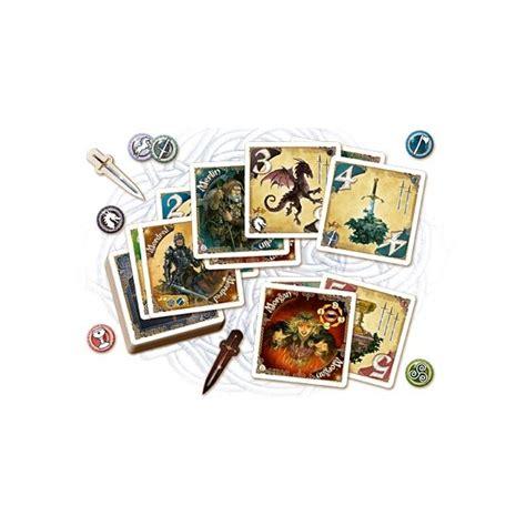 chevaliers de la table ronde le jue de cartes