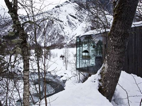 juvet landscape hotel ex machina norway ex machina puts the valldal valley in focus
