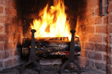Fireplaces For Dummies by High Tech Yule Log Has Fires For Dummies Category