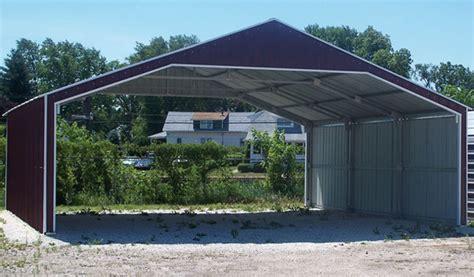 frame carport roofing photo  carportscom tnt metal carports garages buildings rv