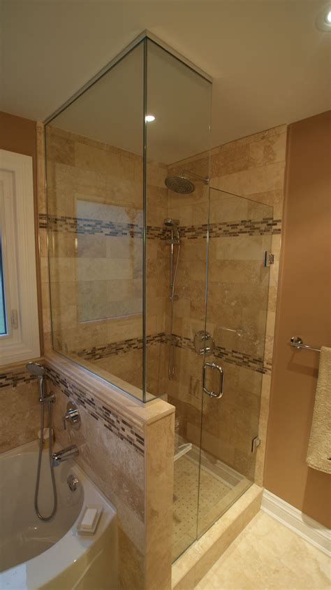 stand up shower tub bathroom in 2019
