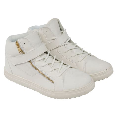 From Designer Shoes To Designer Zip Codes 3 by Rock And Religion Mens Trainers Zip Lace Up Footwear