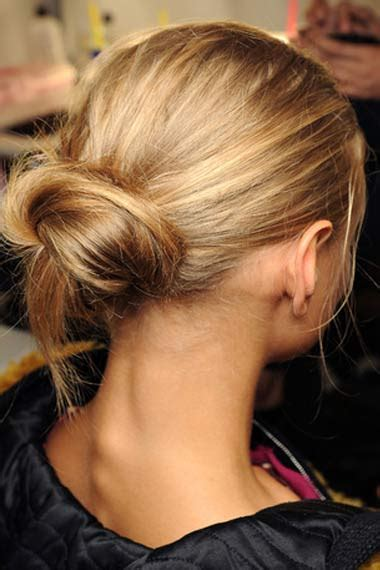 hairstyles wearing hair up trendy and easy to make chignon hairstyle