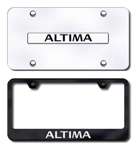 nissan altima license plate frame altima license plates frames and accessories