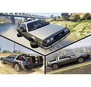 Delorean For GTA 5 7 Car