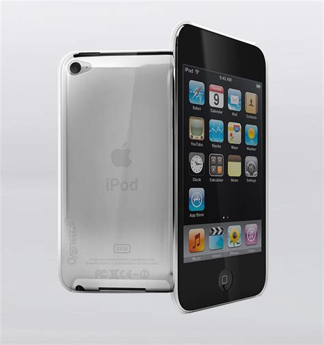 Desk Outlet Store Cygnett Crystal Ipod Touch 4g Case Clear Rushfaster