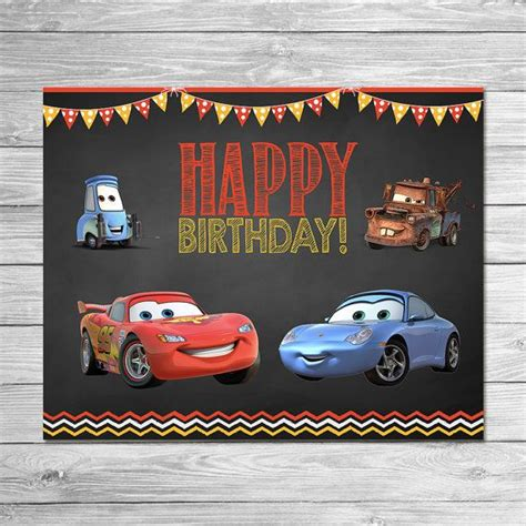 free printable birthday cards lightning mcqueen 10 images about uriah s 3rd birthday party on pinterest