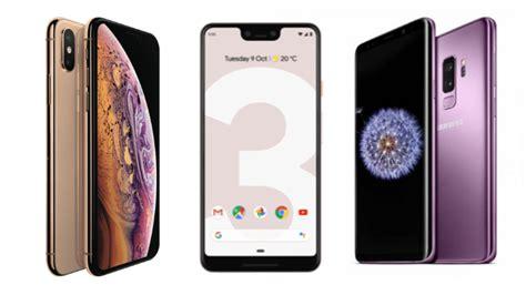 galaxy s10 vs iphone xs vs pixel 3 display processor battery price
