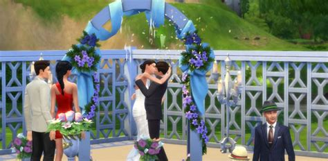 sims 4 wedding weddings in the sims 4 get married