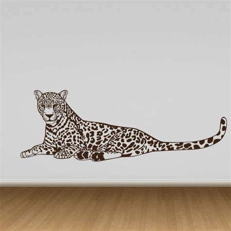 cheetah stickers for wall cheetah wall sticker cutzz