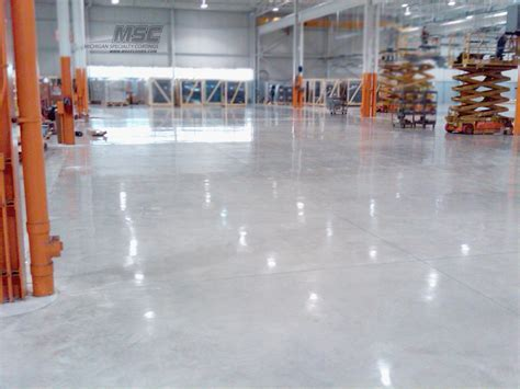 Polished Concrete Installation in Michigan, Ohio & Indiana