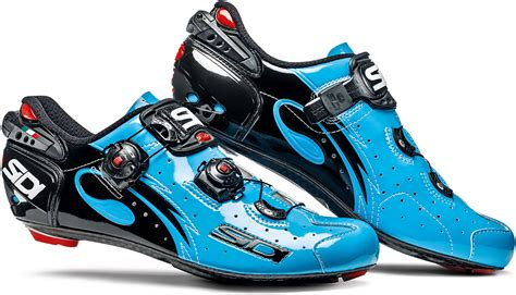 sidi road bike shoes sidi wire carbon chris froome road cycling shoes blue sky