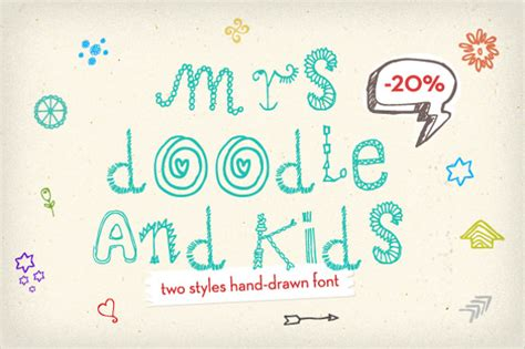 doodle text for pc free font 15 free otf ttf format free