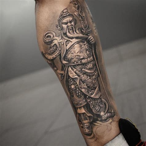 chinese warrior tattoo warrior best ideas gallery