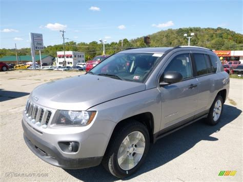 silver jeep compass 2016 billet silver metallic jeep compass sport 107379884