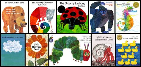 Eric Carle Printable Book Covers