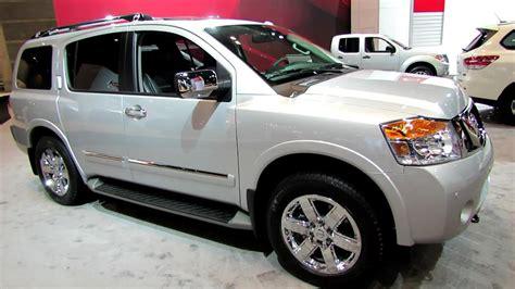 nissan platinum 2014 2014 nissan armada platinum exterior and interior