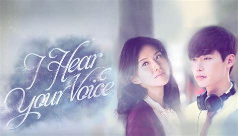 film drama korea i hear your voice i hear your voice 너의 목소리가 들려 watch full episodes free