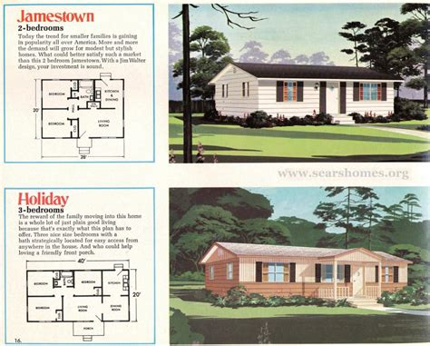 Sears Homes Floor Plans jim walter homes a peek inside the 1971 catalog sears
