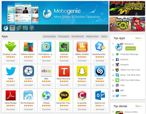 mobogenie apk for android mobogenie android apk andy android emulator for pc mac
