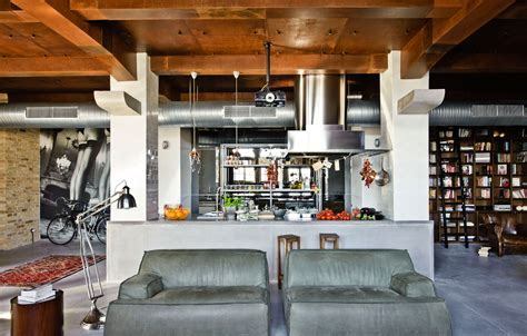 decorating a loft eclectic loft apartment in budapest by shay sabag