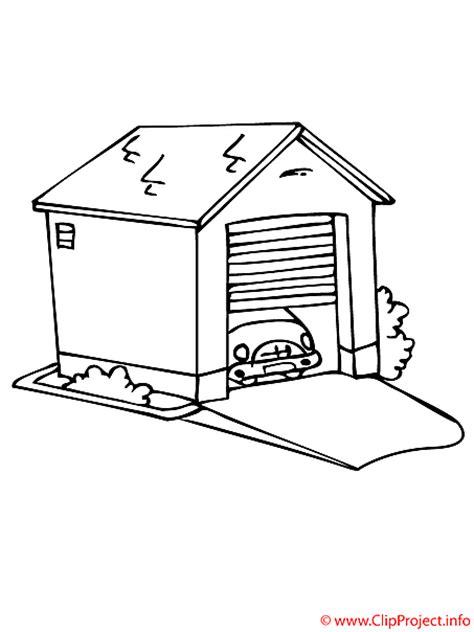 garage zeichnung malvorlage kostenlos garage