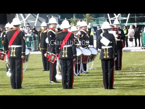 boat show band royal marines band collingwood barclays 2013 jersey boat