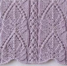 leaf edging knitting pattern arched leaf lace edge more great patterns like this pine