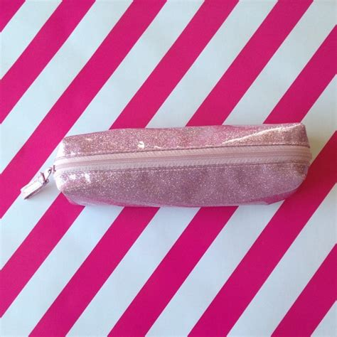 5 Glittery Posts To Blogstalk by 75 Clutches Wallets Pink Glitter Pouch Pencil