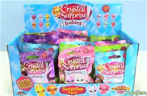 toy haven surprises crystal surprise babies blind bags case opening toy genie surprises